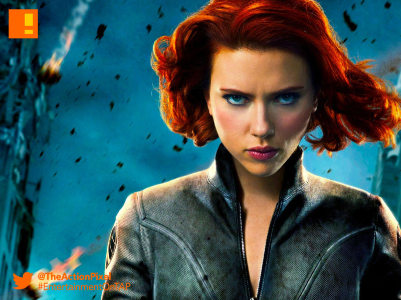 scarlett johansson, black widow, marvel,comics, marvel comics,actor, solo movie,female lead, the action pixel, entertainment on tap, marvel studios,