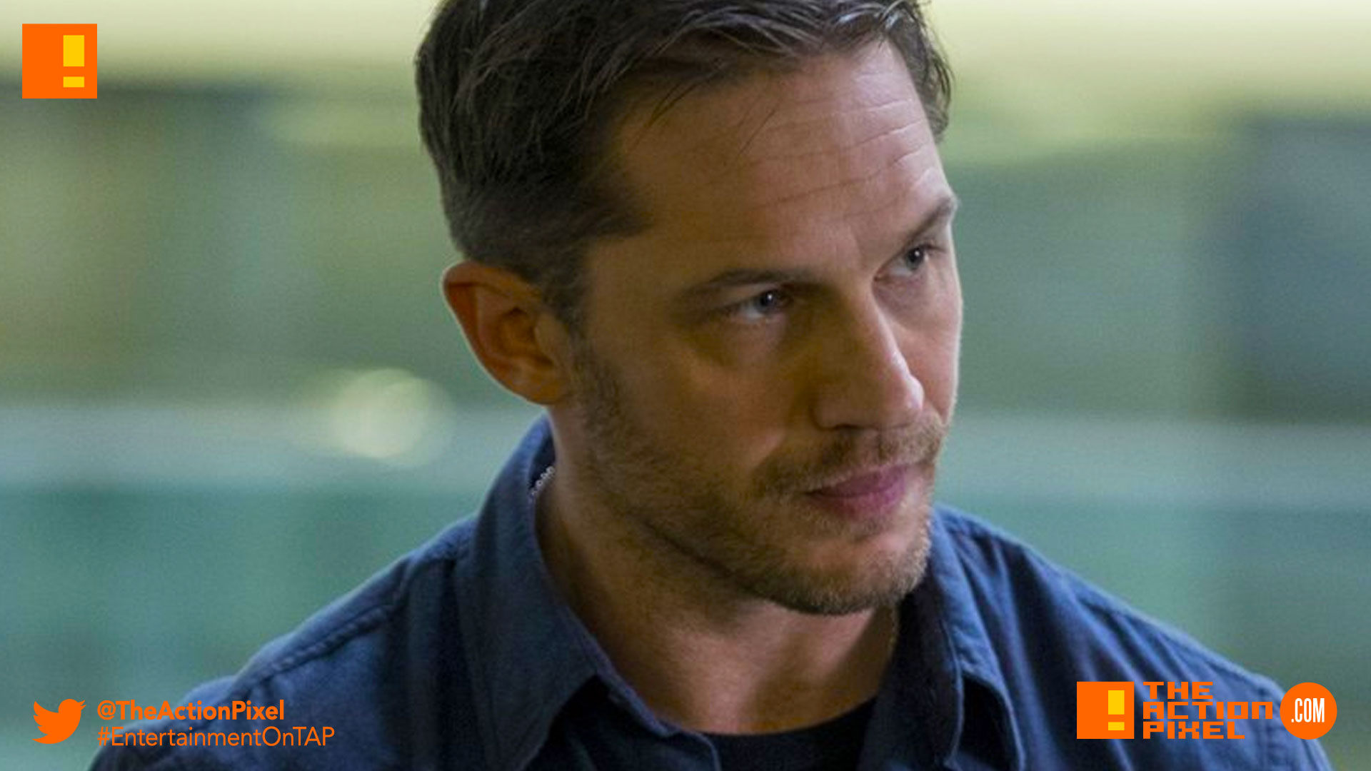 tom hardy, venom, spider-man, spin-off, the action pixel, entertainment on tap,sony pictures