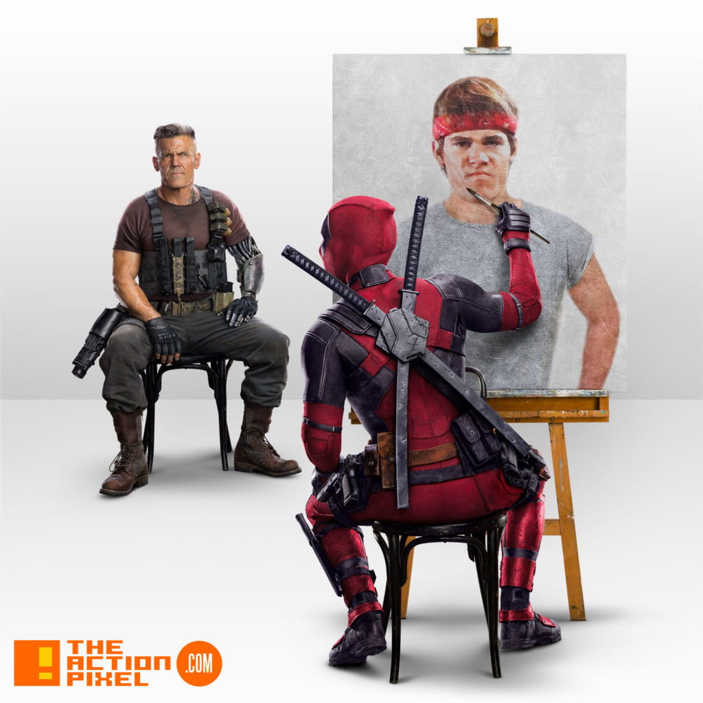 josh brolin, cable,deadpool, deadpool 2,deadpool 2, entertainment on tap,deadpool, deadpool 2, marvel, 20th century fox, the action pixel, entertainment on tap,poster, poster art,the goonies,