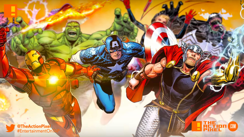 marvel, comics, marvel comics,c.b. cebulski, marvel,eic, the action pixel, entertainment on tap, marvel, marvel comics,