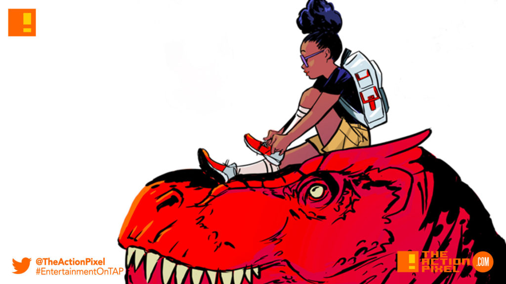 moon girl and the devil dinosaur, moon girl, devil dinosaur, marvel, disney, entertainment on tap, the action pixel