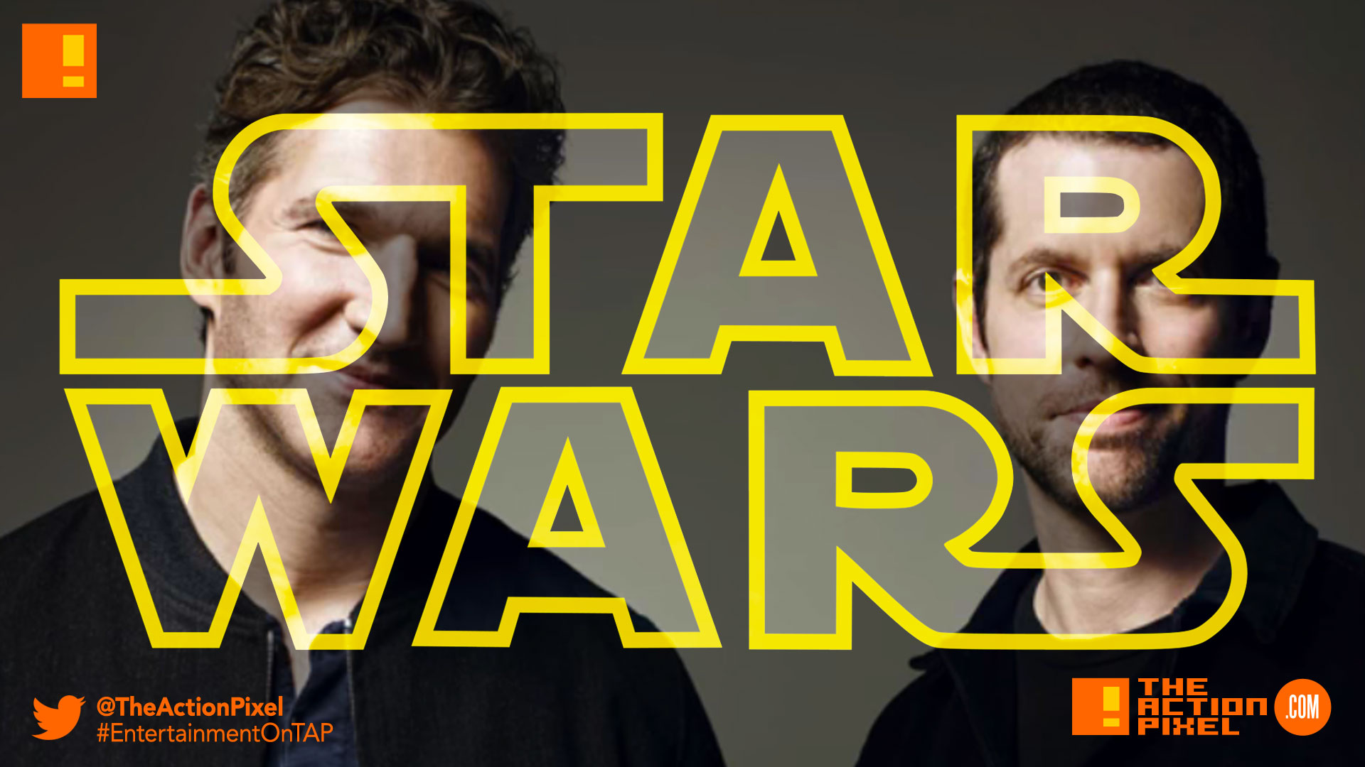 David Benioff , game of thrones, star wars, D.B. Weiss, the action pixel, entertainment on tap, disney, lucasfilm, kathleen kennedy,