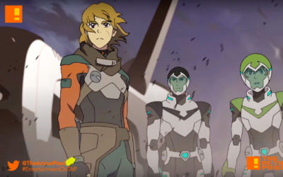 voltor, voltron, season 5, dreamworks, trailer, netflxi, the action pixel, entertainment on tap