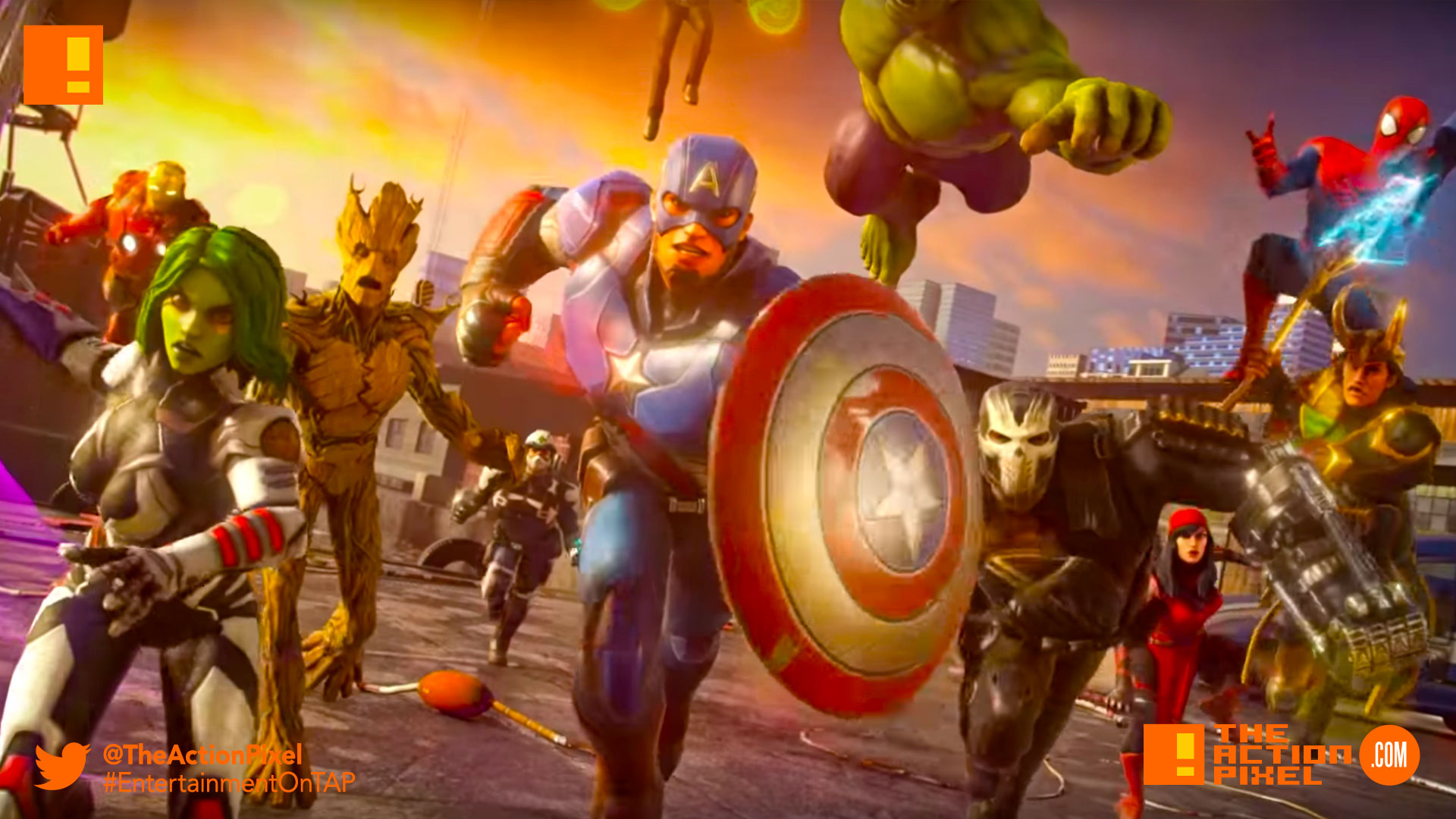 strike force, marvel strike force, the action pixel, entertainment on tap,