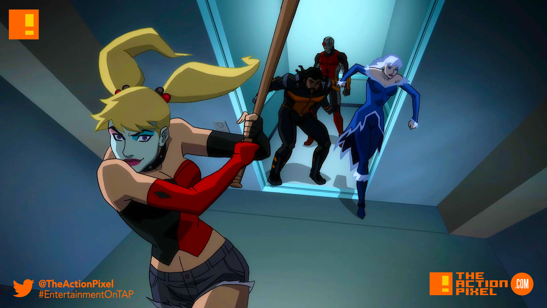 hell to pay, suicide squad, suicide squad: hell to pay, dc comics, warner bros. animation, warner bros., deadshot, harley quinn, copperhead, the action pixel, entertainment on tap, suicide squad animation,rooftop
