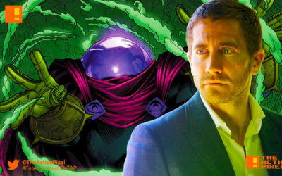 JAKE GYLLENHAAL, MYSTERIO, spider-man: homecoming, the action pixel, entertainment on tap