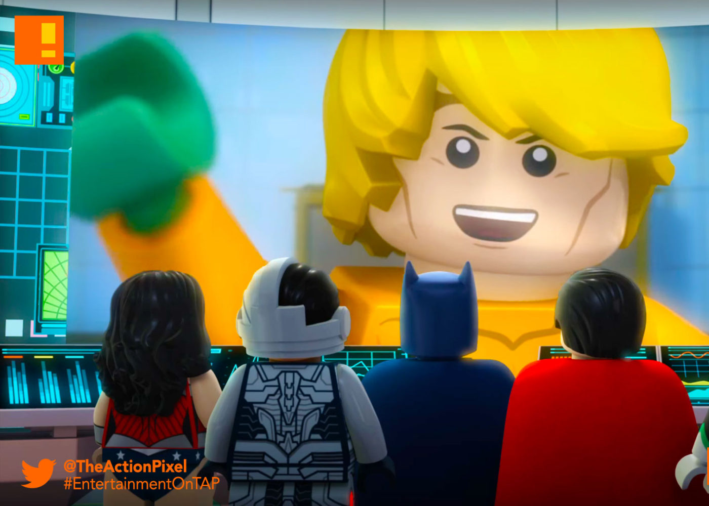 LEGO DC Comics Super Heroes: Aquaman ,Rage of Atlantis , aquaman, lego, dc super heroes, dc comics, warner bros home entertainment, warner bros, the action pixel, entertainment on tap,
