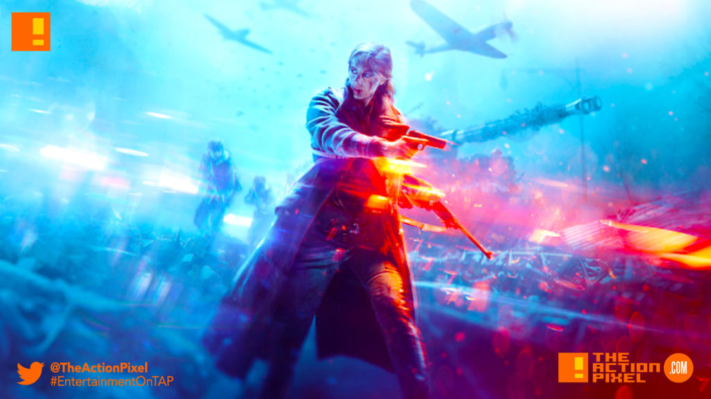 battlefield 5, battlefield v, the action pixel, ea, ea dice, dice, electronic arts, the action pixel, entertainment on tap,