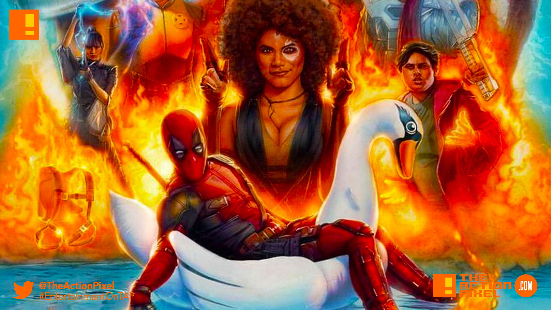 final trailer, josh brolin, cable,deadpool, deadpool 2,deadpool 2, entertainment on tap,deadpool, deadpool 2, marvel, 20th century fox, the action pixel, entertainment on tap,poster, poster art, trailer, zazie beetz, imax, imax poster, poster,