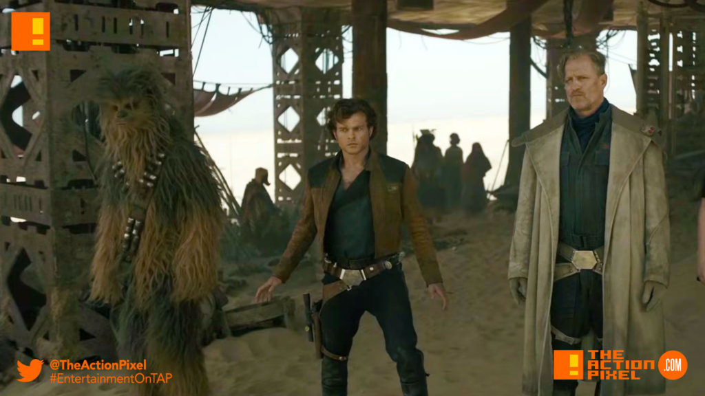 han solo, han, poster, poster art, ron howard, han solo, a star wars story, alden ehrenreich, han solo, the action pixel, star wars, solo movie, han solo solo movie, a star wars story, entertainment on tap, donald glover,woody harrelson,big game, tv spot,chewie, qi'ra, solo, risk, ride, clip, the action pixel, entertainment on tap