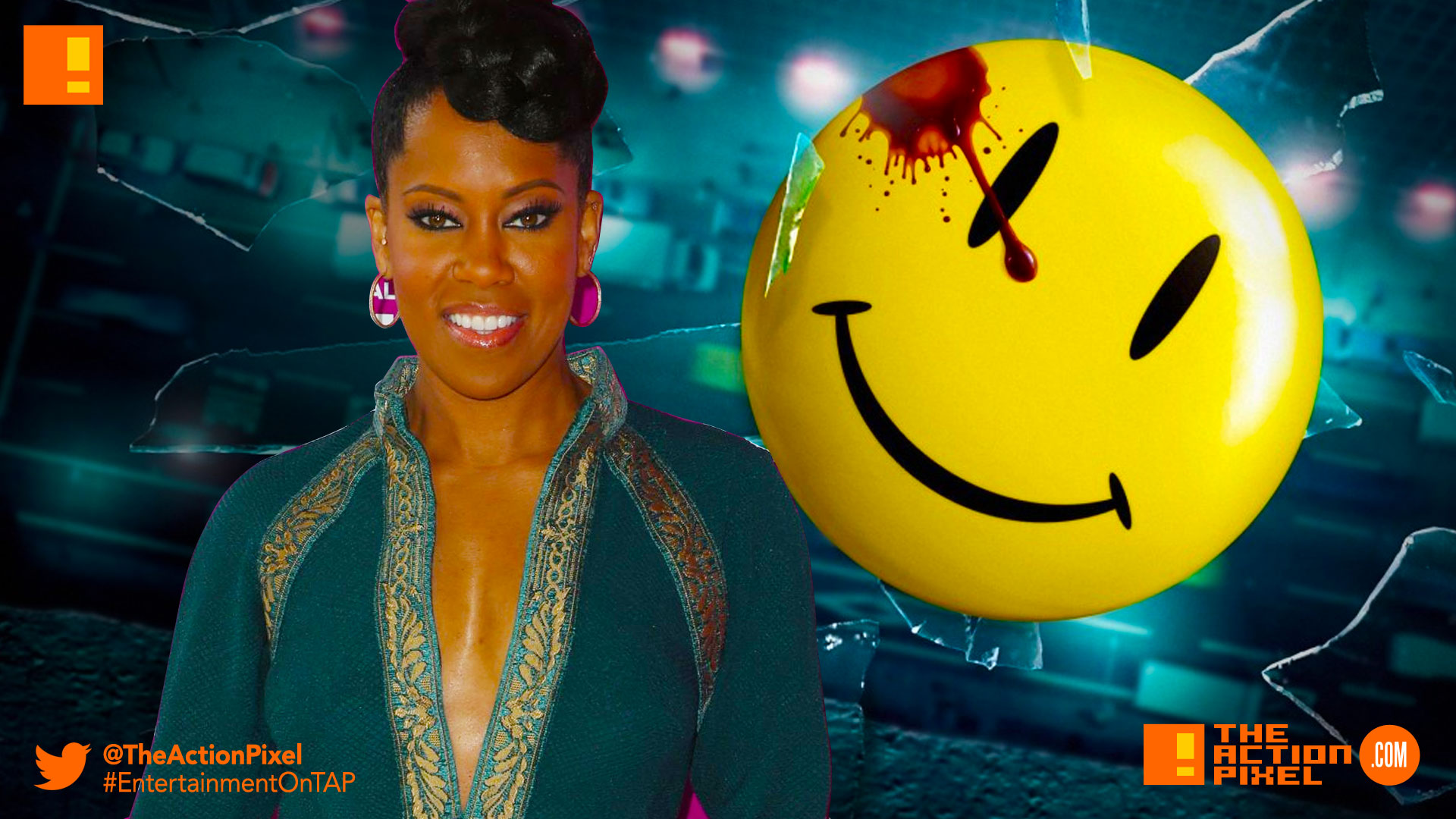 regina king, watchmen, hbo's watchmen, the action pixel,entertainment on tap