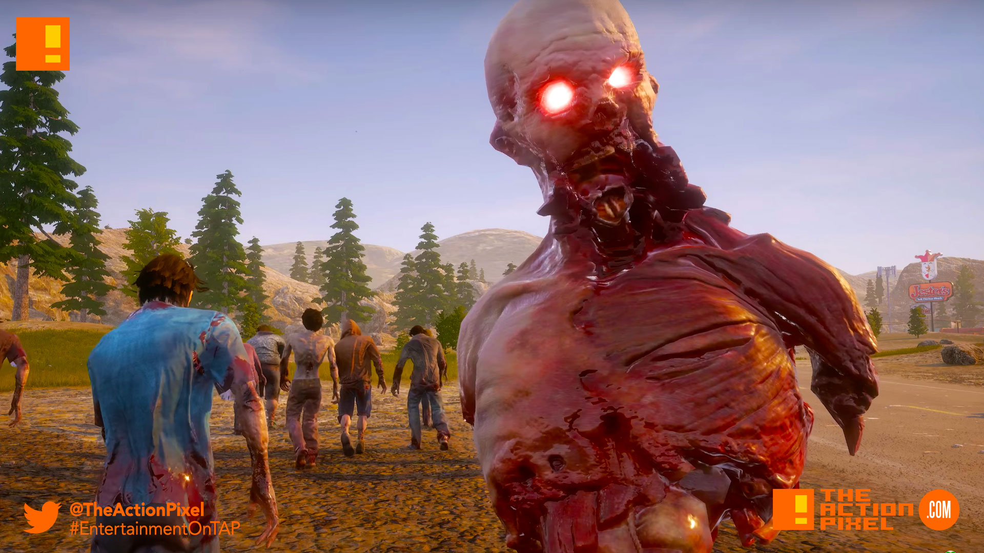 state of decay 2, state of decay, xbox, the action pixel ,entertainment on tap, zombies, undead,