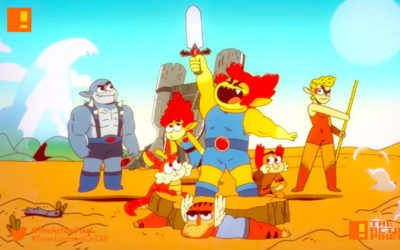 thundercats roar, thundercats, lion-o, warner bros. animation, the action pixel, entertainment on tap,