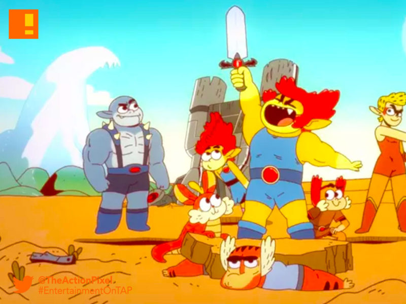 thundercats roar, thundercats, lion-o, warner bros. animation, the action pixel, entertainment on tap,