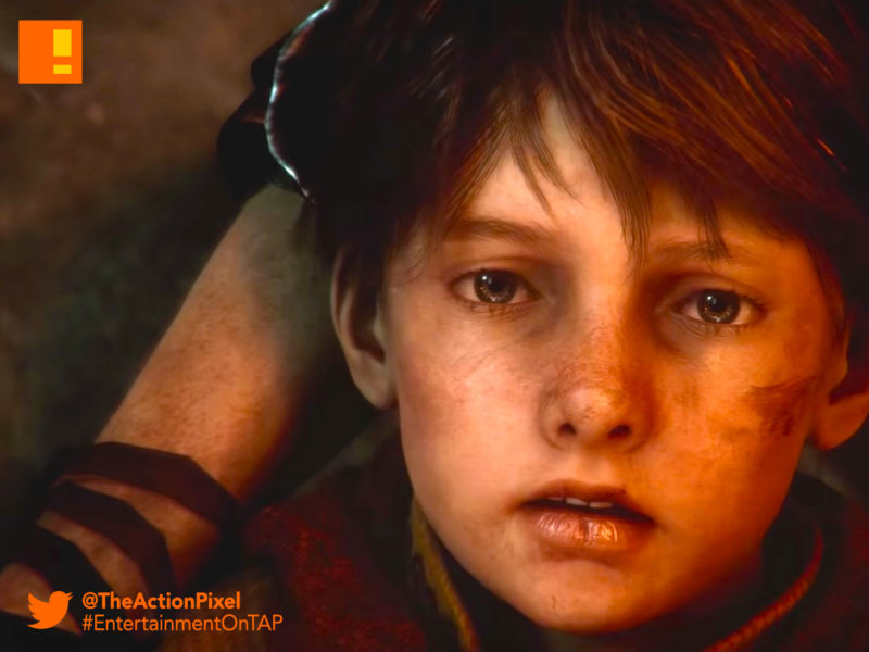 A Plague Tale: Innocence, Asobo Studio, black death, france, e3 trailer, e3, e3 2018, focus home interactive, the action pixel,entertainment on tap