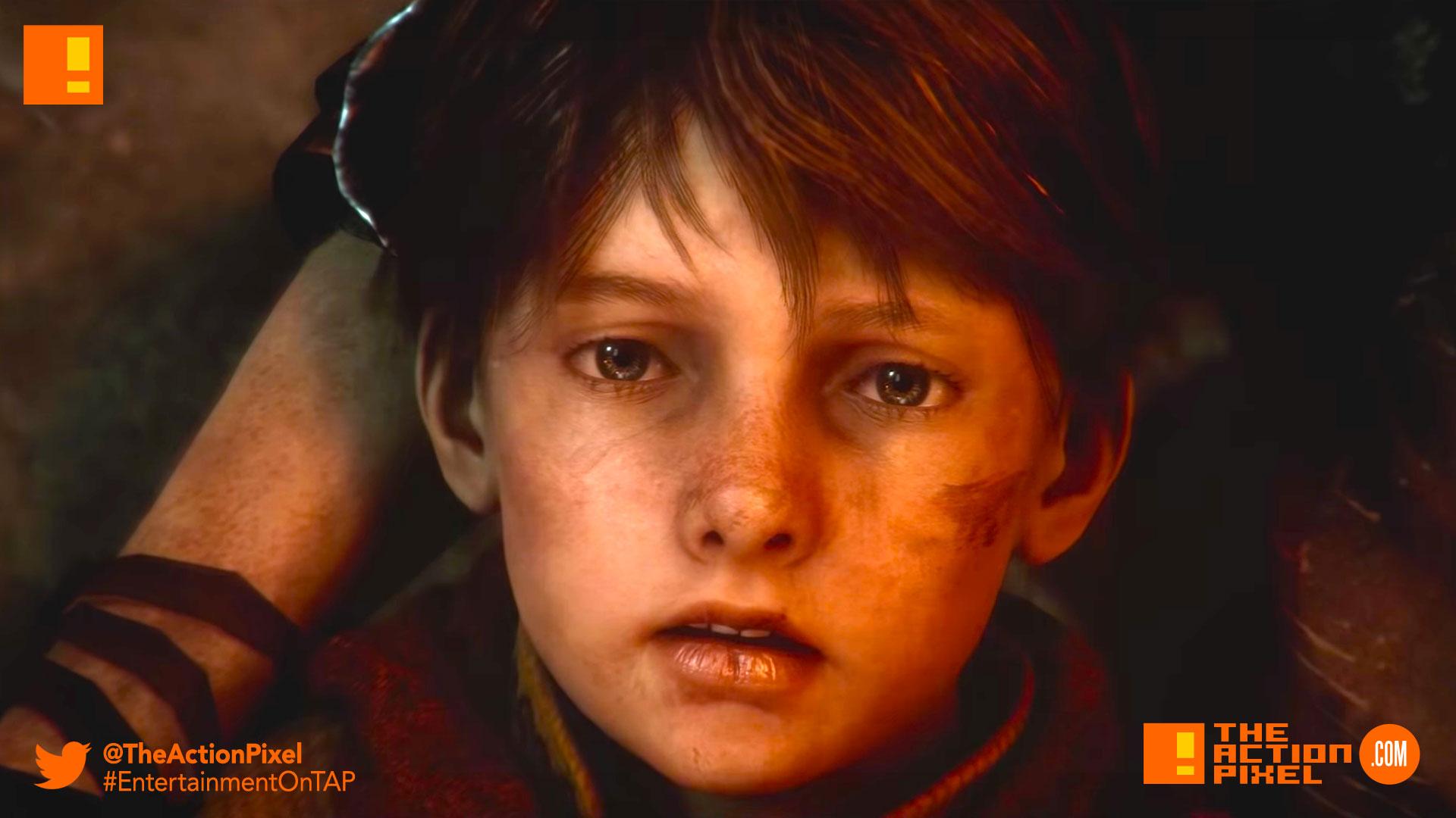 A Plague Tale: Innocence, Asobo Studio, black death, france, e3 trailer, e3, e3 2018, focus home interactive, the action pixel,entertainment on tap