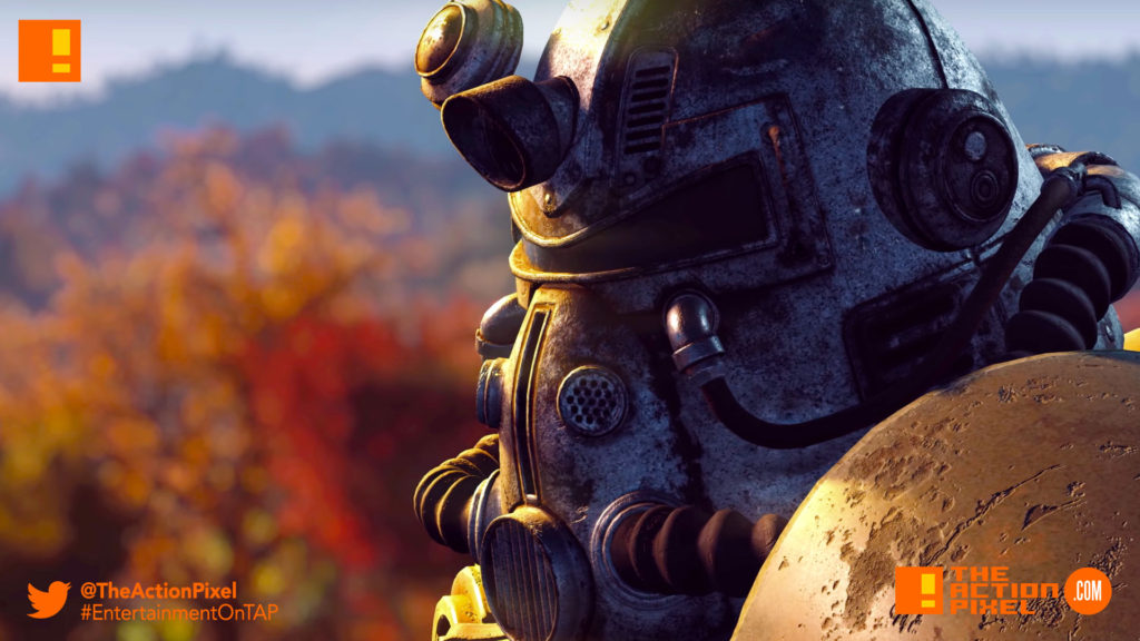 fallout 76, fallout, bethesda, official e3 trailer, official trailer, trailer, the action pixel, entertainment on tap,