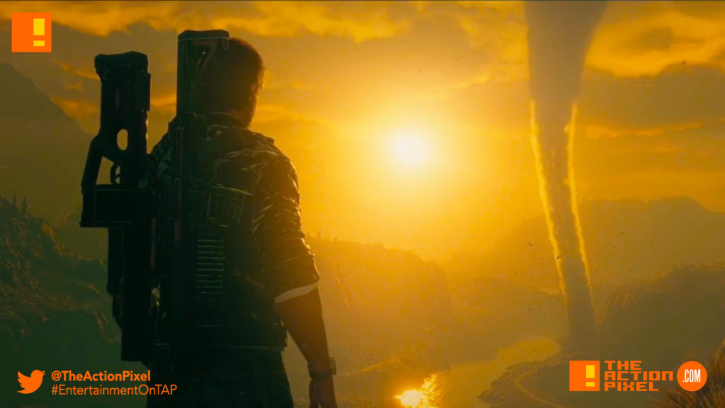 just cause 4, announcement gameplay trailer, trailer, the action pixel, entertainment on tap, rico,