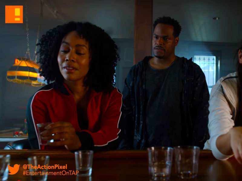 luke cage,colleen, misty, colleen wig, iron fist, netflix, marvel, luke cage season 2, entertainment on tap, the action pixel, clip