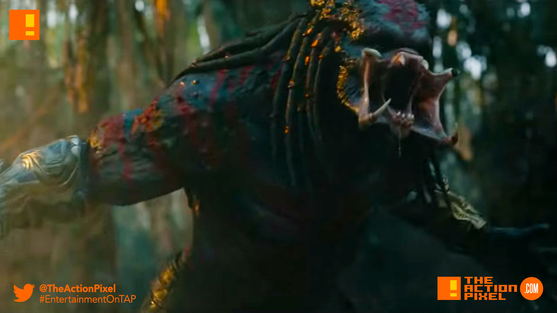 the predator, predator, 20th century fox, Sterling K. Brown, Trevante Rhodes, Boyd Holbrook, Jacob Tremblay, Olivia Munn, Keegan Michael-Key, shane black,the predator, official trailer