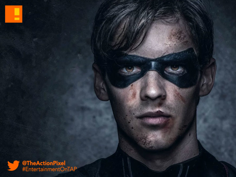 brenton thwaites, costume, beast boy, ryan potter, teen titans ,titans, the action pixel, casting , dc comics,nightwing, Brenton Thwaites, dc comics , titans, the action pixel, robin, TEAGAN CROFT, raven, starfire, dc comics, the action pixel, anna diop, entertainment on tap,dove, hawk, Hank Hall, minka kelly, Alan Ritchson, dawn granger, the action pixel, titans, dc comics, dc entertainment,entertainment on tap,casting, cast