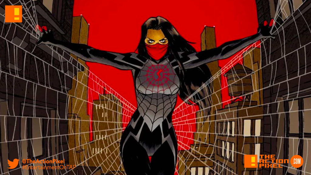 silk, sony pictures, spider-man, spiderman, the action pixel,entertainment on tap,sony pictures, sony,
