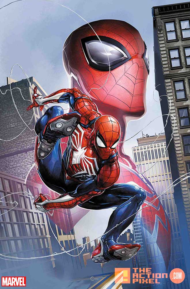 spiderman, spider-man, comics, marvel comics, insomniac games, marvel's spider-man, marvel's spiderman, wall-crawler, webhead, variants, ps4,spiderman ps4,the action pixel,entertainment on tap,