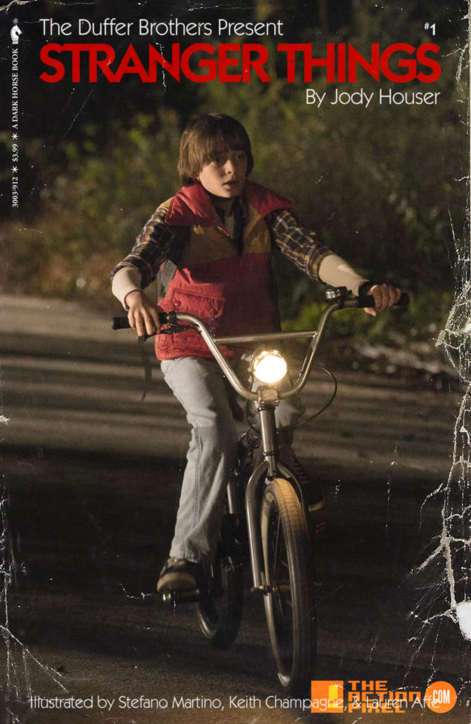 Kyle Lambert, Netflix, stranger things , stranger things 2, the action pixel, will ayer, comic book, dark horse comics, netflix series, dark horse, preview, panel art, demagorgon, eleven, el, L, the action pixel, entertainment on tap,Patrick Satterfield