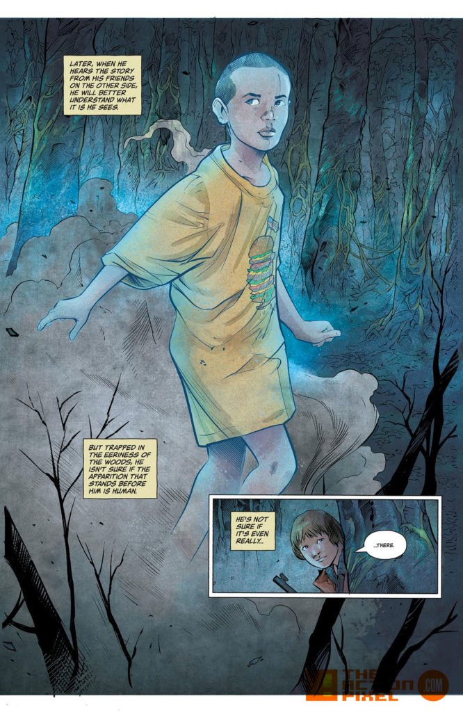 Kyle Lambert, Netflix, stranger things , stranger things 2, the action pixel, will ayer, comic book, dark horse comics, netflix series, dark horse, preview, panel art, demagorgon, eleven, el, L, the action pixel, entertainment on tap,Patrick Satterfield, Rafael Albuquerque