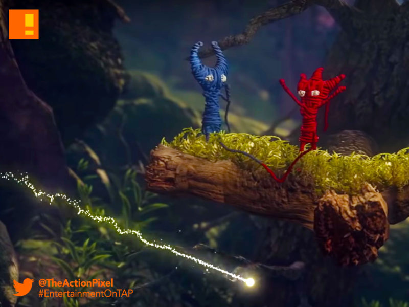 unravel two, ea ,ea play, reveal trailer, trailer, the action pixel,entertainment on tap