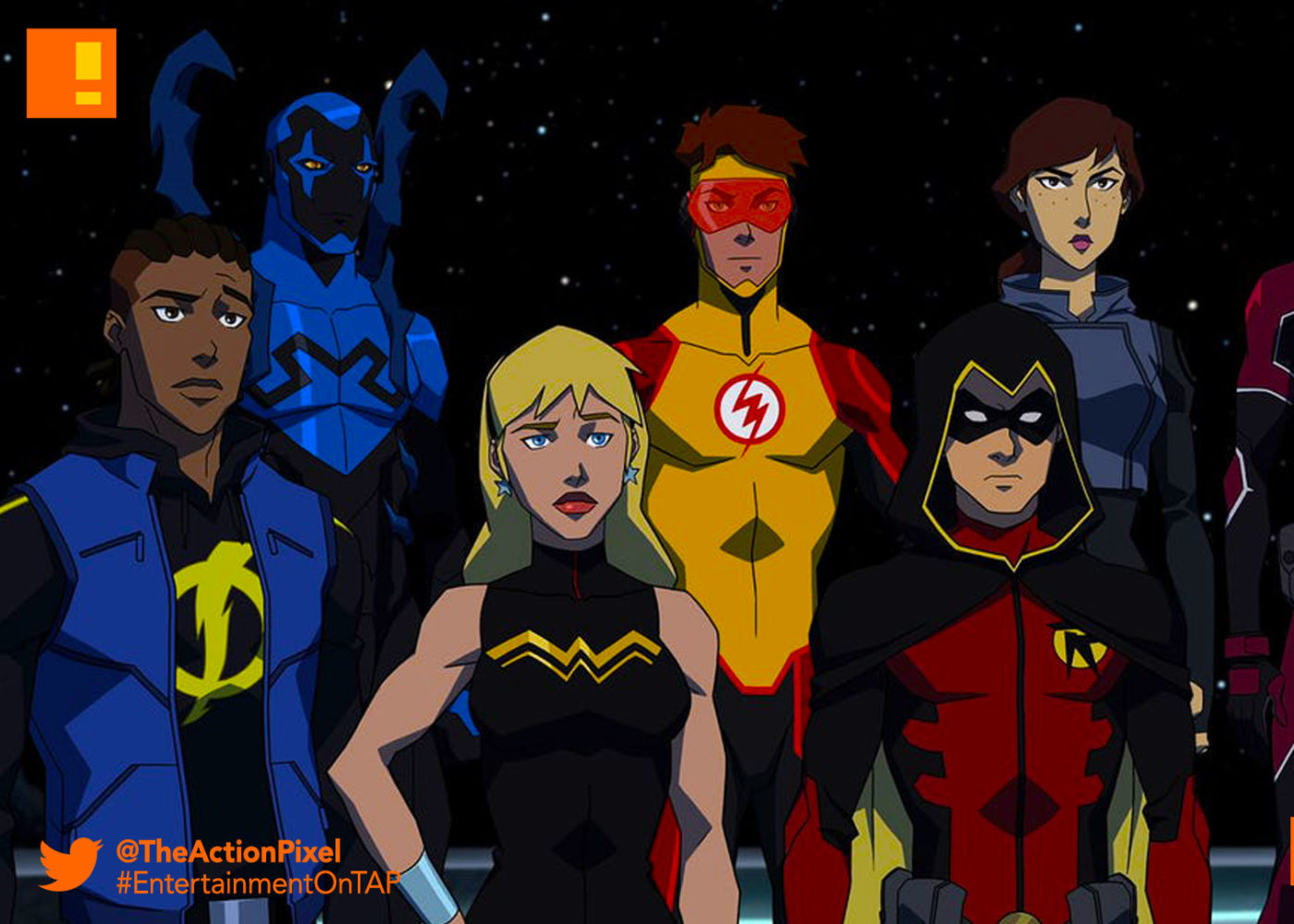 �young justice outsiders� faces delay amidst the launch