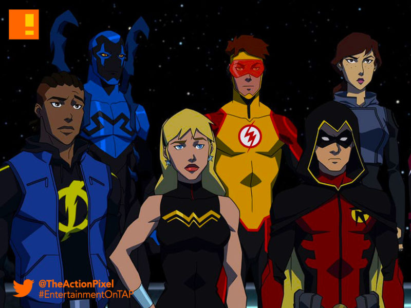 young justice: outsiders, young justice, outsiders, young justice season 3, young justice series, robin, the action pixel, entertainment on tap, dc universe, dc streaming service, streaming