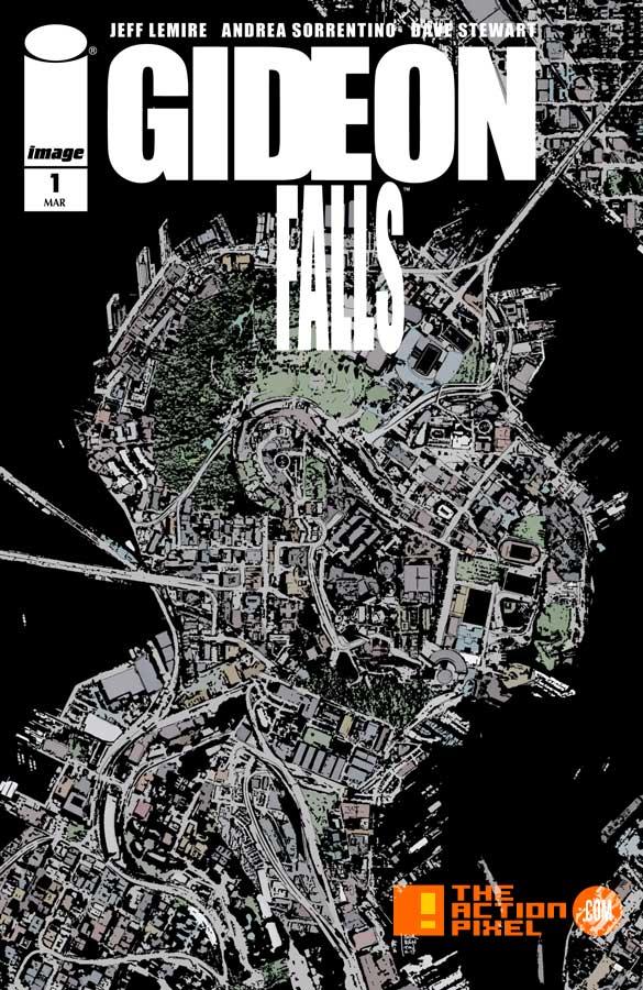 gideon falls, hivemind, image comics, the action pixel, Jeff Lemire , Andrea Sorrentino,the action pixel, entertainment on tap