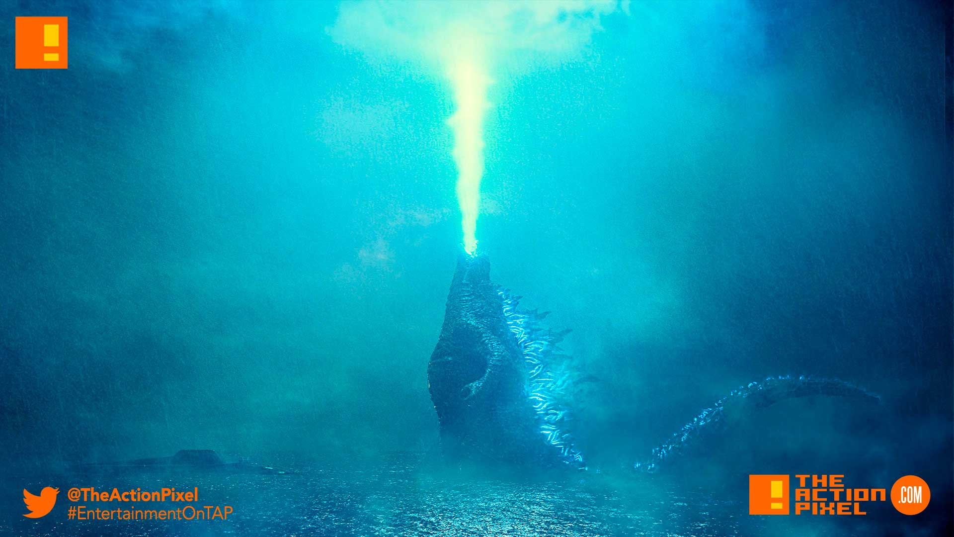 godzilla: king of the monsters, godzilla, millie bobby brown, the action pixel, entertainment on tap, atomic breath,