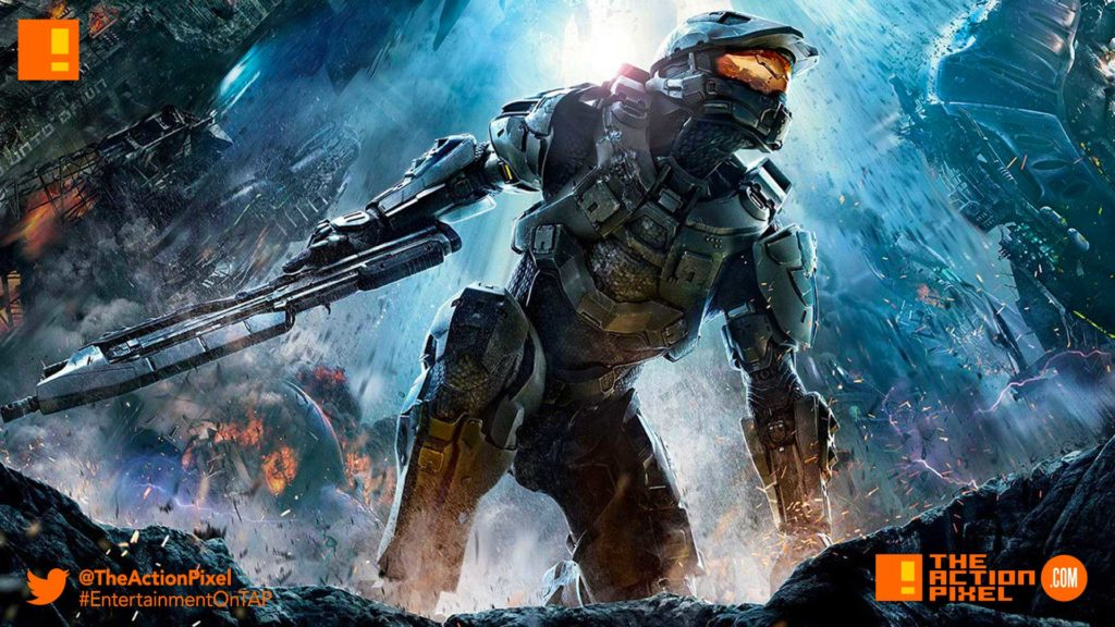 halo, microsoft, xbox, showtime, tv series, video game tv series, the action pixel, entertainment on tap, xbox, xbox one