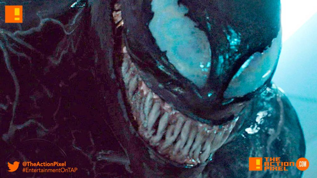 poster, trailer, tom hardy, venom, spider-man, spin-off, the action pixel, entertainment on tap,sony pictures,official trailer, entertainment weekly
