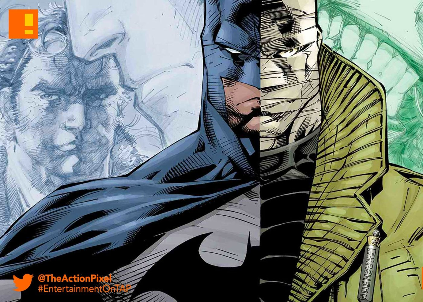 batman hush, justice league: fatal five, fatal five, wonder woman: bloodlines, wonder woman, batman, superman, reign of the supermen, poster, dc comics, warner bros, comic con, the action pixel,entertainment on tap,