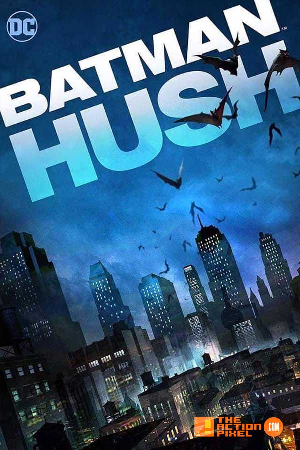 batman hush, justice league: fatal five, fatal five, wonder woman: bloodlines, wonder woman, batman, superman, reign of the supermen, poster, dc comics, warner bros, comic con, the action pixel,entertainment on tap,