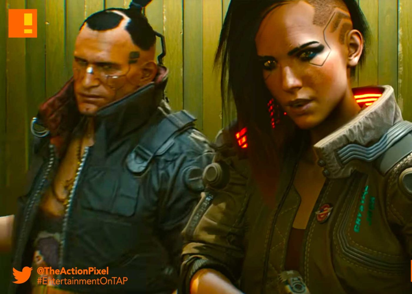 cyberpunk 2077, the action pixel, entertainment on tap