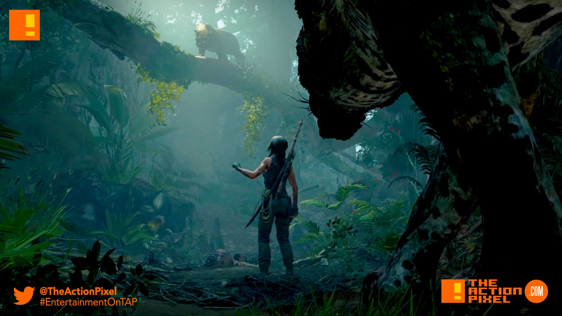 Shadow of the Tomb Raider ,Louder than Words, e3 expo 2018, e3, eidos montreal , crystal dynamics, lara croft, tomb raider, trailer, gameplay, gameplay trailer , the action pixel, entertainment on tap, one with the jungle,