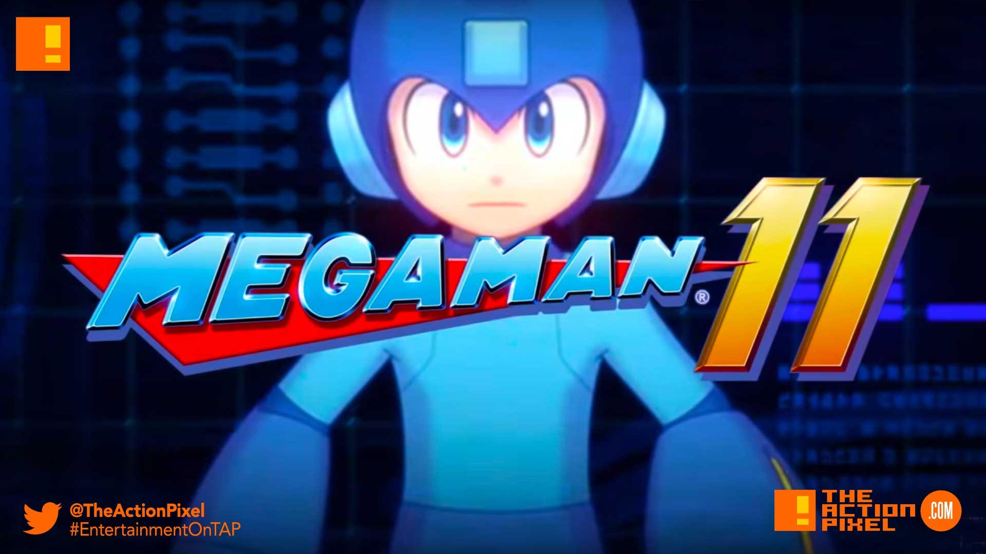 mega man 11, mega man, the action pixel, nintendo, nintendo switch, capcom ,