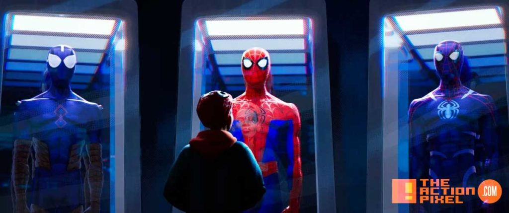 miles morales, spiderman, spider man, spider-man, sony, marvel, marvel comics, animated feature, animation, the action pixel, entertainment on tap,sony animation, marvel,into the spiderverse, spider-man: into the spider-verse,gwen stacey,