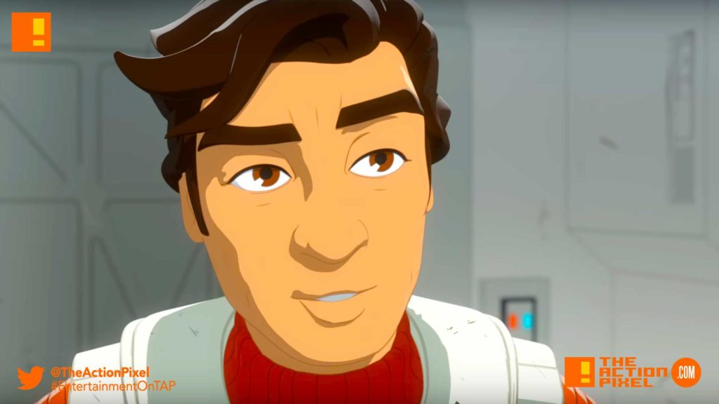star wars resistance, star wars, the action pixel, disney xd, disney,kaz, bb8,poe