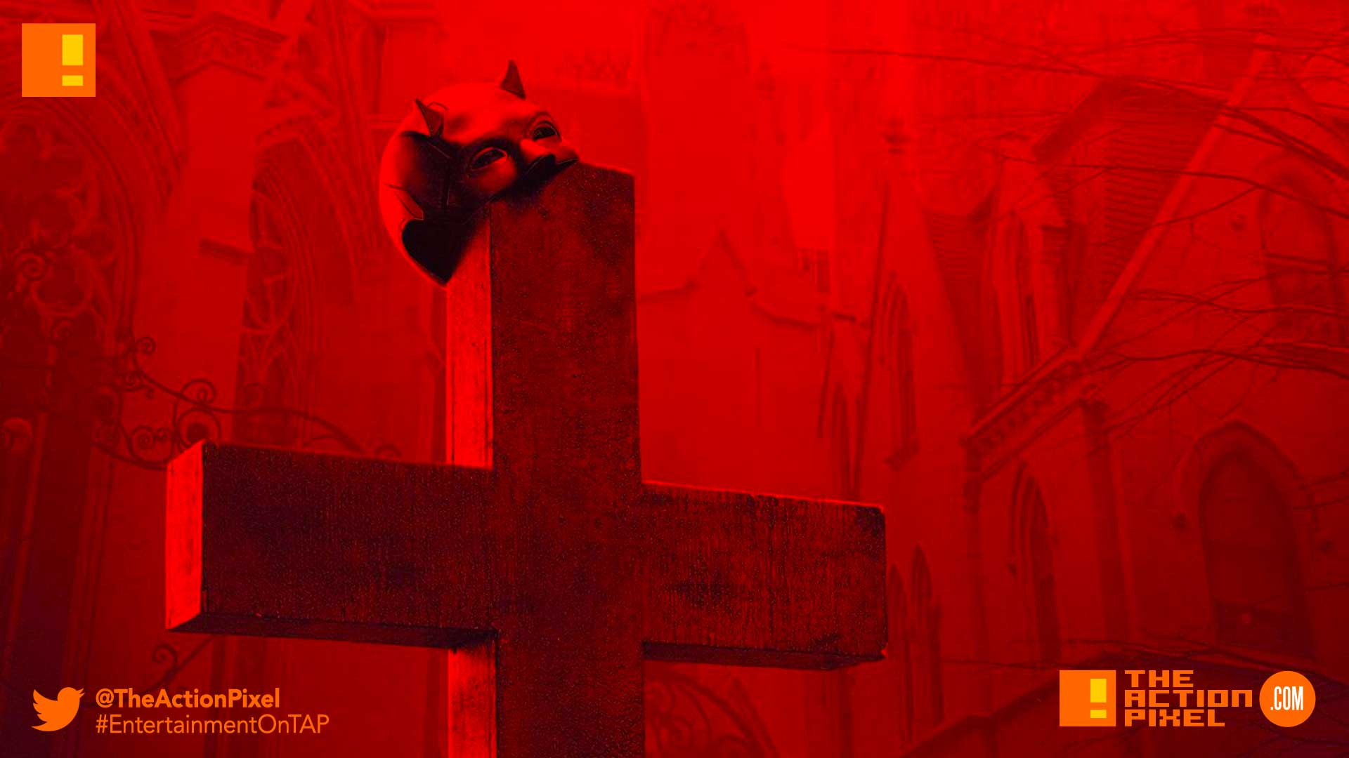 dardevil season 3, daredevil, charlie cox, matt murdock, teaser, catholic church, confessional, priest, abuse, child abuse, church, confession booth, teaser, daredevil, netflix, marvel comics, marvel,