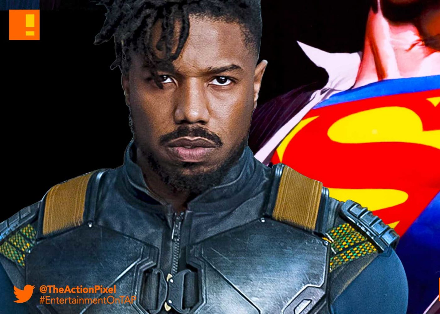 michael b jordan, dc comics, Superman, dceu, superman movie, casting, the action pixel, entertainment on tap