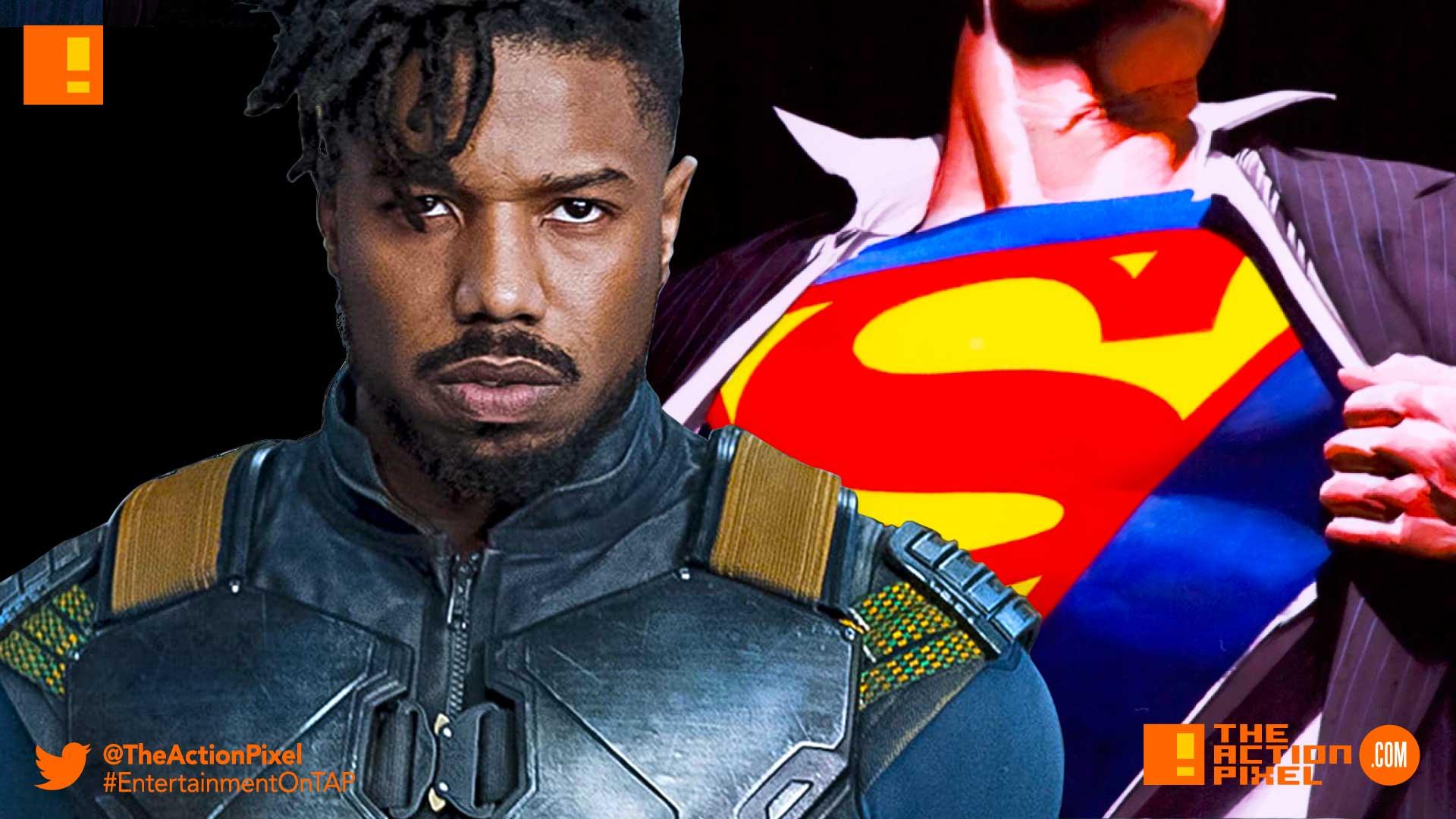 michael b jordan, dc comics, Superman, dceu, superman movie, casting, the action pixel, entertainment on tap