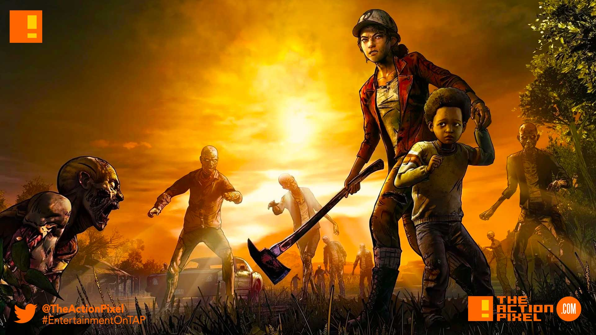 the walking dead, a new frontier, twd, the telltale series, entertainment on tap, the action pixel, release date, premiere , season 3, twd, clementine,javier, extended look, release date,closure, majority studio closure