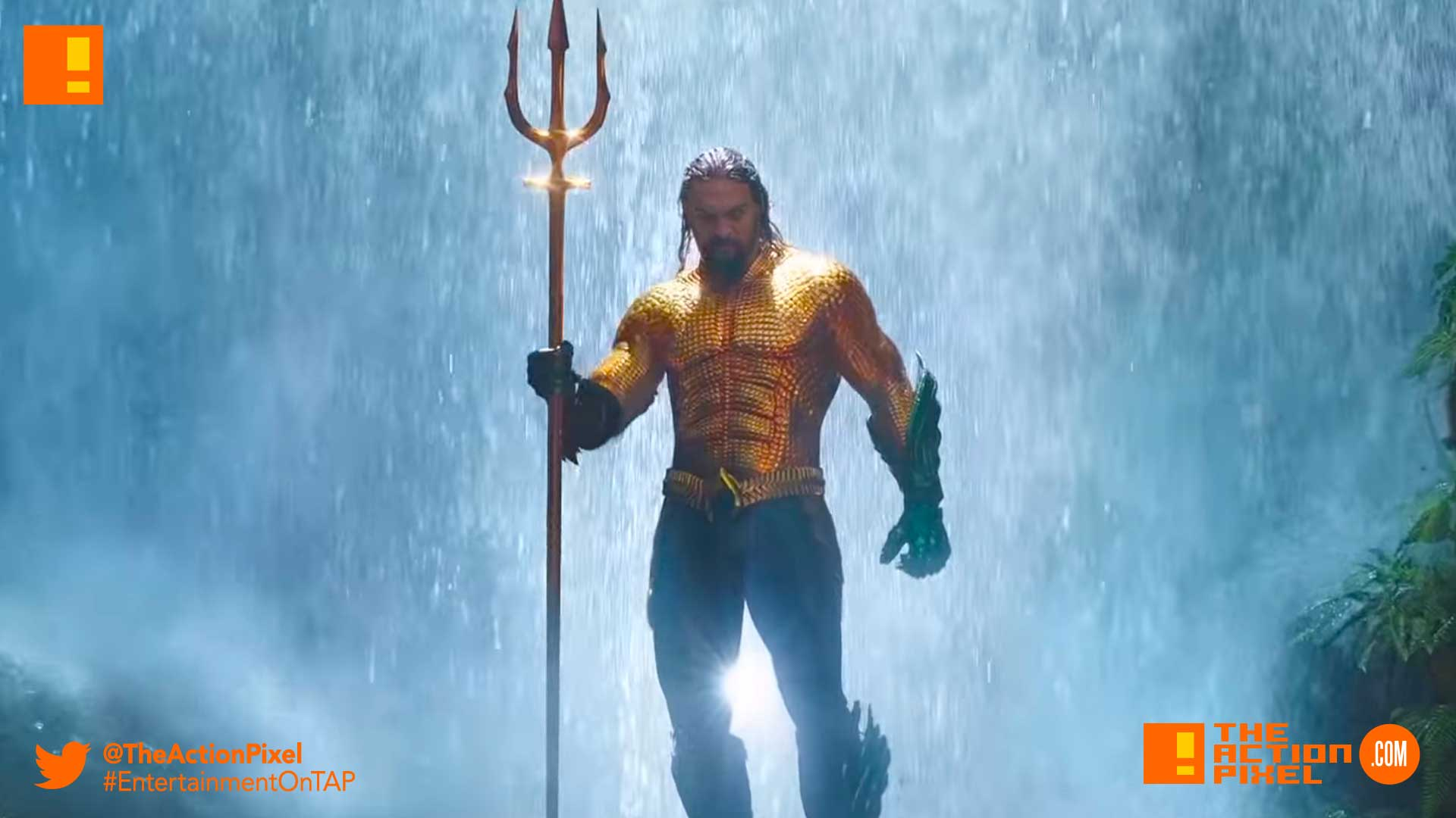 aquaman, dc comics, the action pixel, entertainment on tap, poster , Orm, queen atlanna, black manta, james wan, the action pixel, entertainment on tap, jason momoa, aquaman, arthur CURRY, dc comics, dc films, justice league, first look,dc comics, wb pictures, warner bros, mera, amber heard,trident, poster art