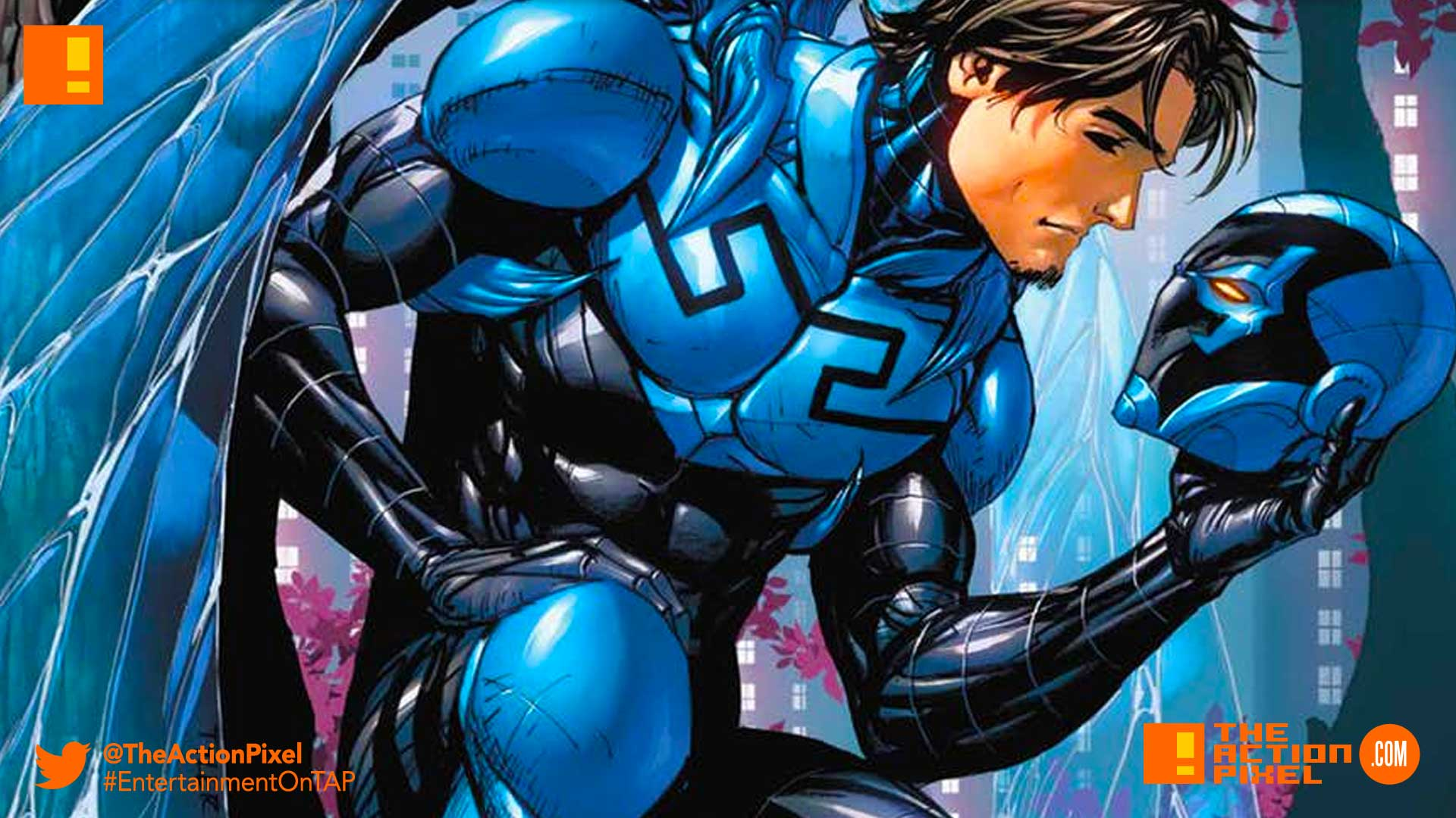 blue beetle, comics, dc comics, warner bros pictures, wb picture, warner bros. , jamie reyes, latino, mexican-american
