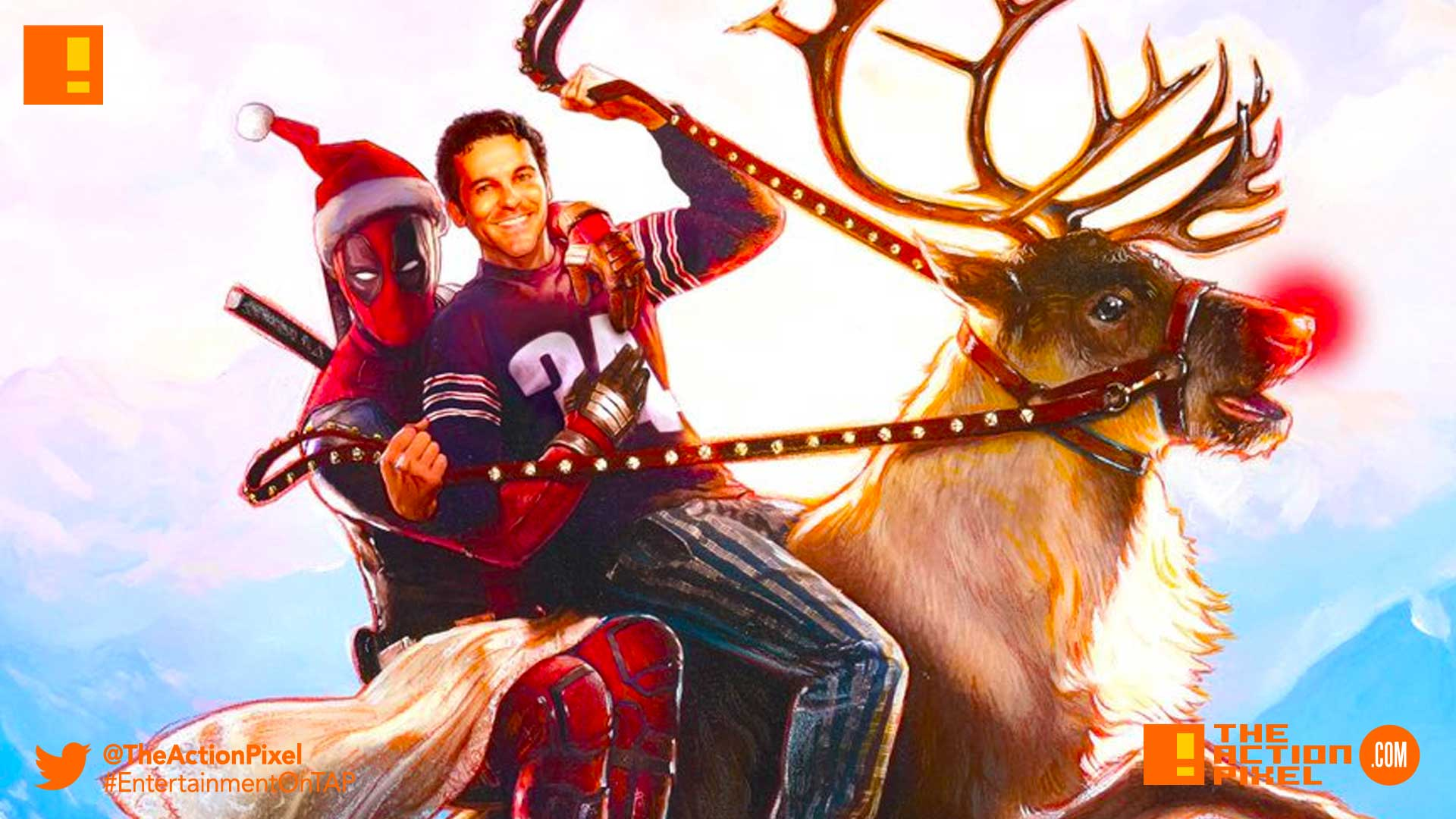 deadpool 2, fred savage, christmas, pg-13, disney, 20th century fox, deadpool, poster, fred savage, the wonder years,the action pixel, entertainment on tap